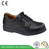 Комфорт вскользь ботинок Graceortho обувает неподдельные кожаный ботинки (9609229)