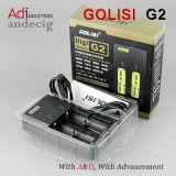E 담배 충전기 발광 다이오드 표시 충전기 Golisi 가장 새로운 G2 충전기