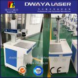 Machine inoxidable d'inscription de laser de fibre de Steel&Copper&Brass&Plastic de vente chaude/mini inscription de laser de fibre