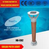 lumières actionnées solaires de 3W DEL avec la batterie au lithium de 3.7V 5ah