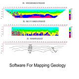 Détection de l'eau de formation image de résistivité de mètre de détection de l'eau souterraine