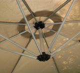 Ombrello a mensola di alluminio esterno del giardino della spiaggia 3m