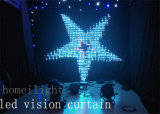 Stage Backdrop를 위한 2*3m The Best LED Vision Curtain Video Curtainled Vision Cloth
