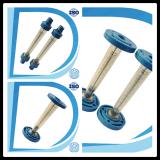 Contactdoos-Eind van het Type van Draad van het Type van Flens van de Sensor van het Water van de Meting van het Water van de hoogste-kwaliteit de Plastic Debietmeter van het Type