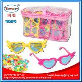 Игрушка малышей пластичная стеклянная с мешком PVC конфеты