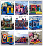 2016 4.5X5m Inflatable Bouncer Slide Combo Avengers Castle für Sale Overseas