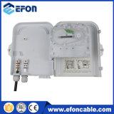 Cadre gauche de diviseur du cadre 8 imperméables à l'eau de Disturition de fibre optique de FTTH avec le connecteur de Sc/APC