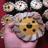 돌 구체적인 닦는 기계 (4 인치 모래 50)를 위한 CD-51 다이아몬드 가는 격판덮개