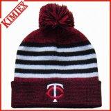 冬の安いヒースによって編まれる帽子