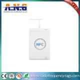 Leitor do USB do escritor 13.56MHz do leitor de NFC RFID