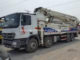 Camion utilisé de pompe de Zoomline avec le châssis de benz à vendre