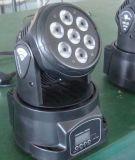 WÄSCHE-Effekt-Lichter des preiswerten Vierradantriebwagen-7X10W mini bewegliche Haupt
