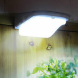 Luz impermeable de la escalera LED del alto de los lúmenes del jardín de la luz 38 LED jardín solar ligero solar del sensor solar