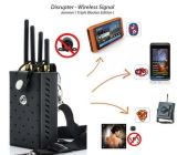 Drahtloser Programmfehler-Kamera-Signal-Hemmer-Block drahtloser Cammer WiFi GPS Signal-Hemmer-Kamera-Hemmer