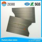 Sostenedor de la tarjeta de visita de aluminio del protector de la seguridad