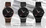 Relógio esperto da movimentação impermeável material de couro de Digitas
