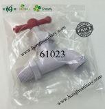 Bibcock en plastique de poignée en T de PVC, robinet en plastique, robinet de PVC