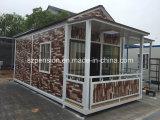 Casa de la alta calidad útil de la fuente caliente/chalet móviles prefabricados/prefabricados