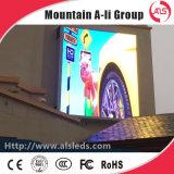 Buon schermo di visualizzazione esterno progettato di P6 SMD LED