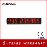 [Ganxin] 5 인치 큰 화면 반 옥외 디지털 LED 시계