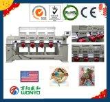 Wonyo는 전산화했다 Mutil 헤드 자수 기계 4 헤드 모자 자수 (WY904C/1204C)를