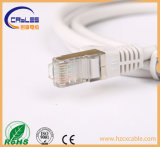 Cuerdas de remiendo del cable Cat5e de la red