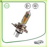 Indicatore luminoso di lampadina automatico dell'alogeno giallo del faro H4