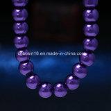 Collier de perle de lueur personnalisé par usine
