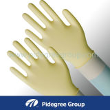 Перчатка рассмотрения латекса 3.5 Mil, изготовление Малайзии перчаток латекса, перчатка латекса хирургическая