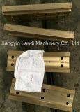 Placas modificadas para requisitos particulares del desgaste de la aleación de cobre para el europeo - molino de tira ancho