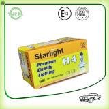Luz/lámpara amarillas del halógeno de la linterna H4