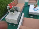 Garten-Rattan-Sofa-Möbel-Set