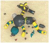 Спортивная площадка Equipmentd Китая детей Kaiqi Kq60013A любимейшая пластичная