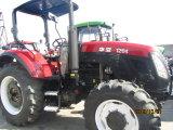 YtoエンジンおよびAC小屋が付いている120HP 4WDの農場トラクター