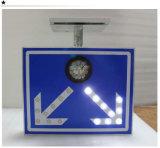 Signe de route solaire léger instantané en aluminium de circulation de DEL Borad