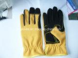 Перчатк-Веса Перчатк-Конструкции Перчатк-Безопасности работы перчатка Перчатк-Синтетического кожаный Перчатк-Защитного поднимаясь