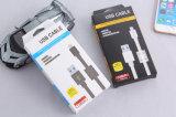 Le PVC coloré a isolé 8 câbles usb de foudre de Pin pour l'iPhone, iPad, iPod