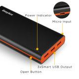 Batería rápida 3.0 15000mAh para el banco móvil de la energía