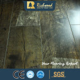 étage stratifié résistant de l'eau de texture de fibre de bois de 8.3mm