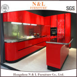 Nuovo armadio da cucina dell'acciaio inossidabile della mobilia della casa di disegno