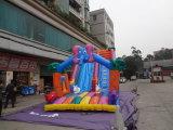 Diapositiva titánica inflable gigante barata comercial popular para la venta