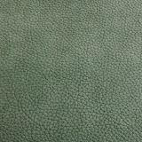 Couro de grão Eco-Friendly do Litchi para a mobília das bolsas (FS703)