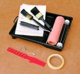 """blocco per grafici resistente placcato bicromato di potassio di verniciatura del rullo di vernice dei 7 """" strumenti con 5 raggi"""