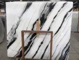 タイルのためのパンダの白い大理石の平板かカウンタートップまたは虚栄心の上または壁のタイルか室内装飾