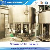 Automatique complet de l'eau potable et de mise en bouteille de capsulage Rinçage machine / ligne