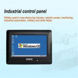 7 PC врезанный дюймами промышленный касания экрана миниый RS485 (ZKC7803)