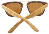 Fqpw161869 qualidade Wenzhou Sunglass, vidros de madeira de bambu do olho do estilo do Mens dos óculos de sol do templo