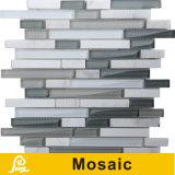Mosaico horizontal caliente del vidrio cristalino de la mezcla de la venta 8m m para la serie del horizonte de la decoración de la pared (horizonte S I01/I02/I03/I04)