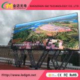 높은 광도 P10 옥외 풀 컬러 LED 영상 벽 또는 디지털 표시 장치