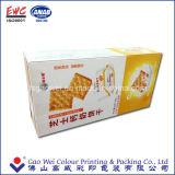 Caixa de empacotamento impressa do presente do papel do alimento